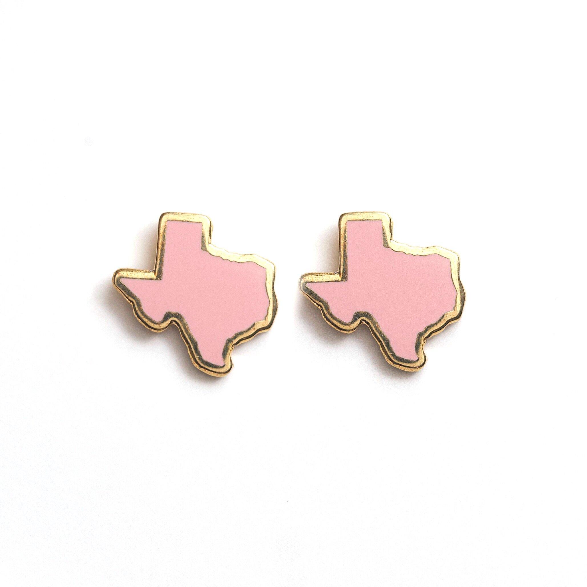 E8 - Pink Texas Earrings