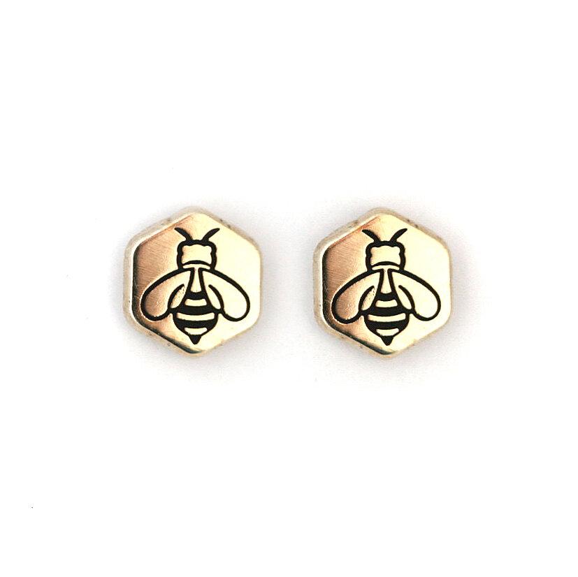 E27 - Honey Bee Earrings