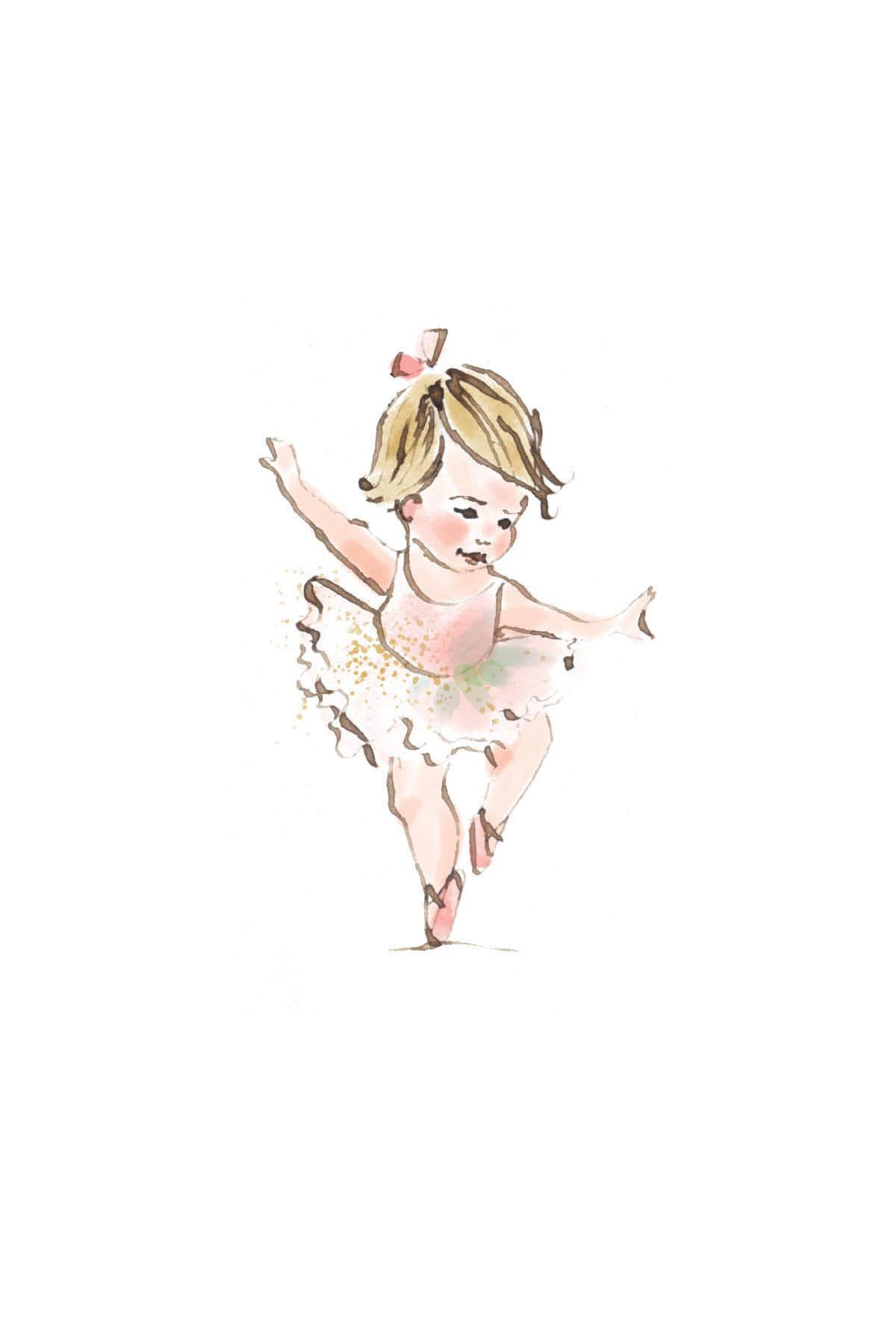 Tiny ballerina | blonde