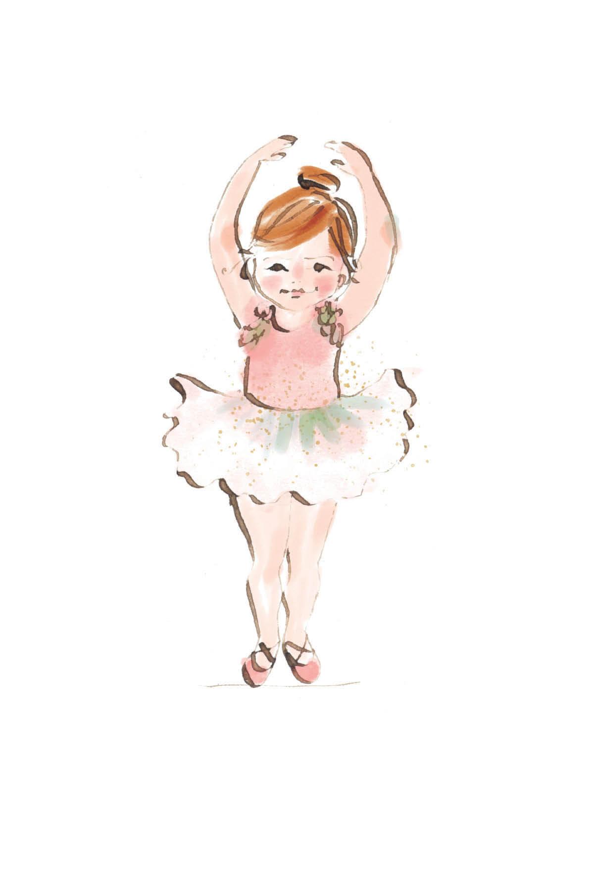 Little ballerina | redhead