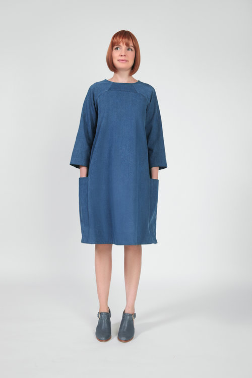 Rushcutter dress pattern- VIEW A
