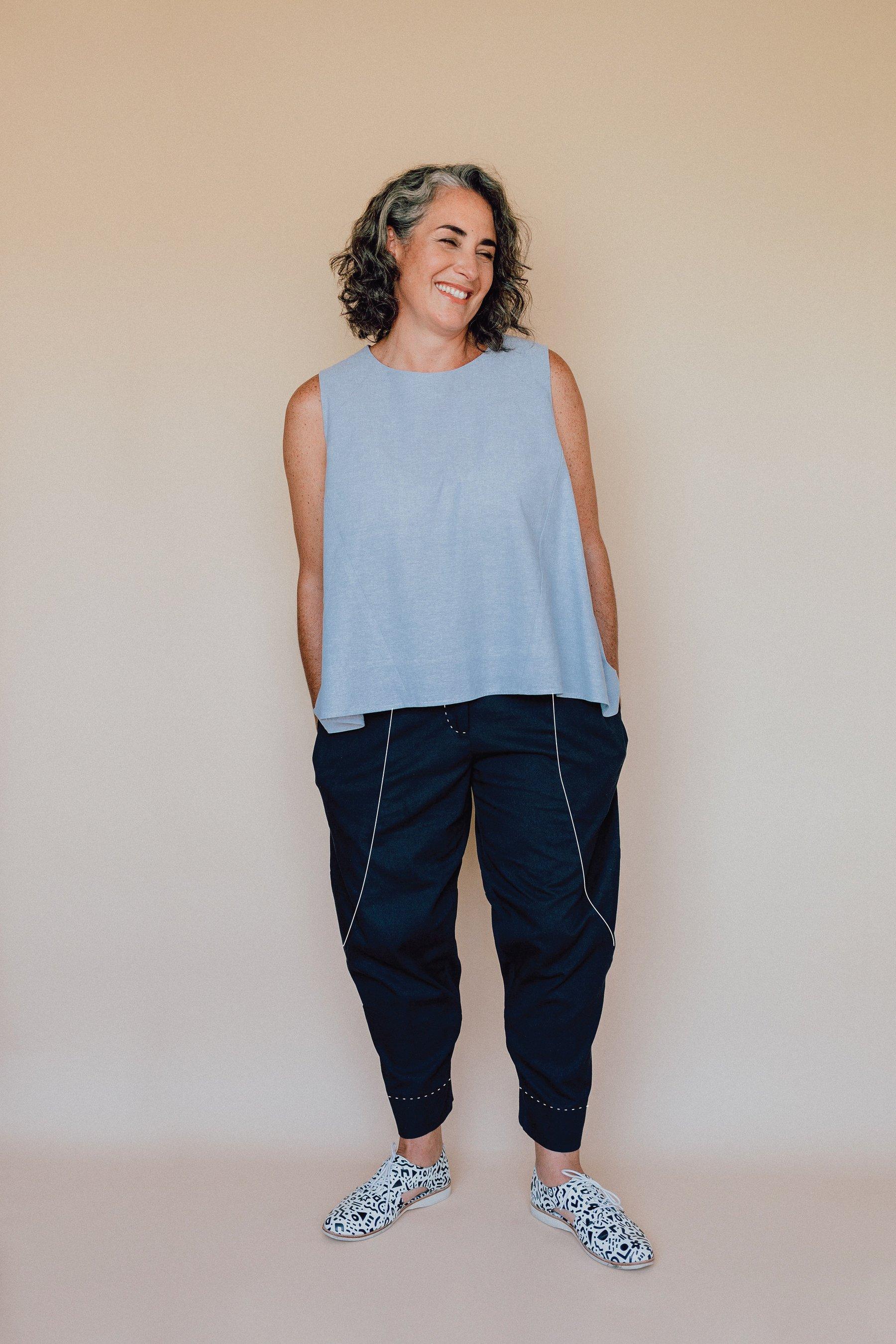 Darlow pants sew-along -