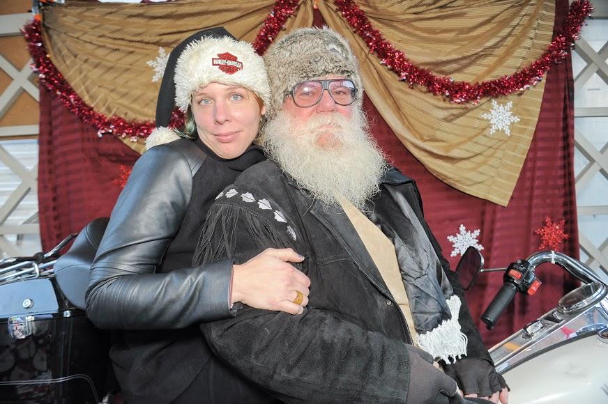 Me with Irish at the Holiday Market 2014. Photo by Fedora El Morro, Tinyboxmedia.com