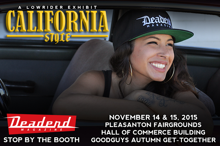 Make sure to visit us at the Deadend Magazine booth.