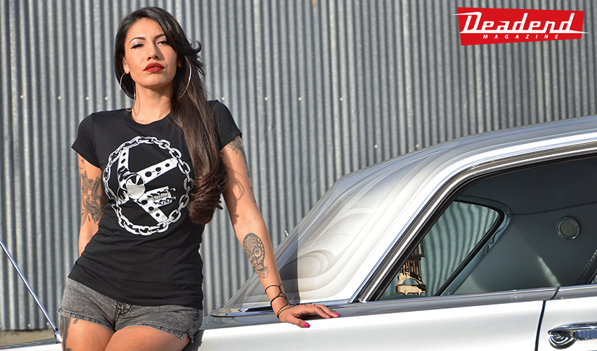 The t-shirt Mayra is wearing is about to go up on our online shop, stay tuned.