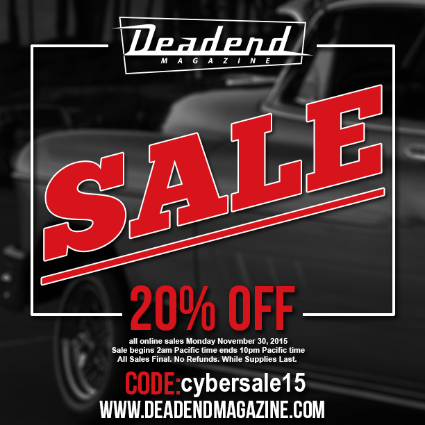 Cyber Monday Sale ends today (11/30/15) 10pm Pacific Time