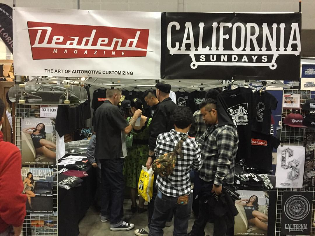 Thanks to everyone who stopped by the Deadend Magazine booth!