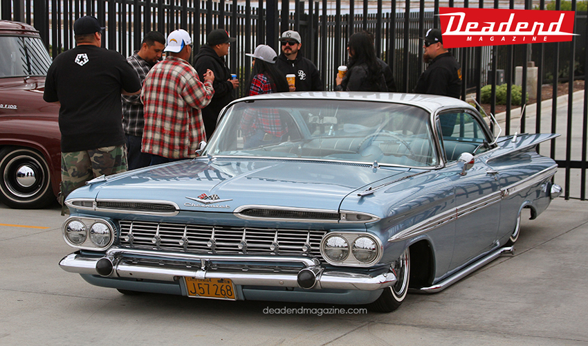 David brought out his Impala from the Los Angeles area