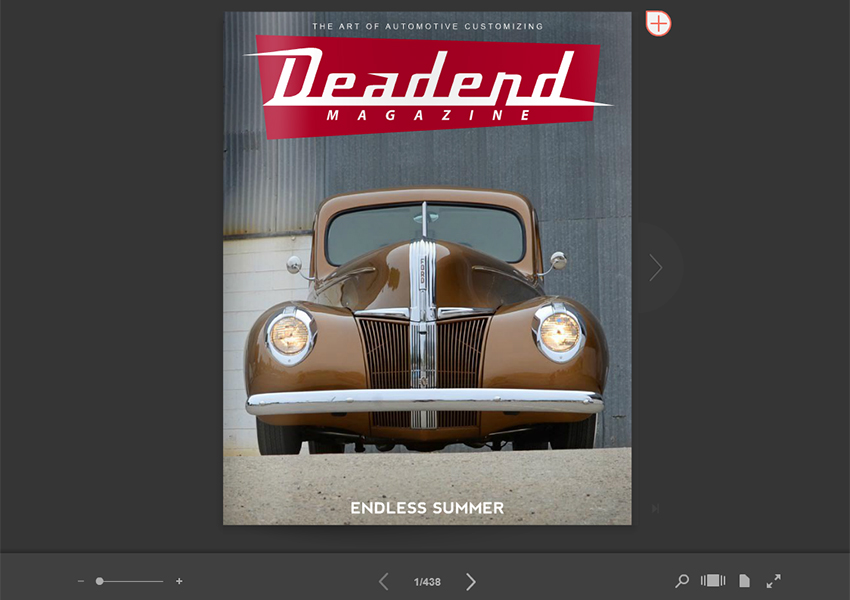 We finally updated Deadend Magazine online (click on image) including a whole new issue.