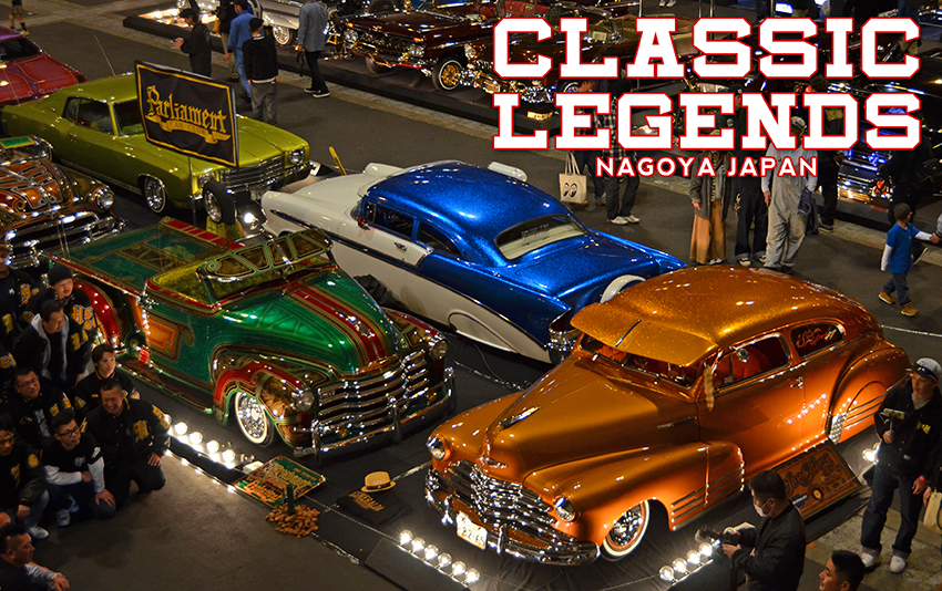 We headed back to Japan for Classic Legends car show in Nagoya Japan. the show was amazing with some of Japan's best low riders in attendance.