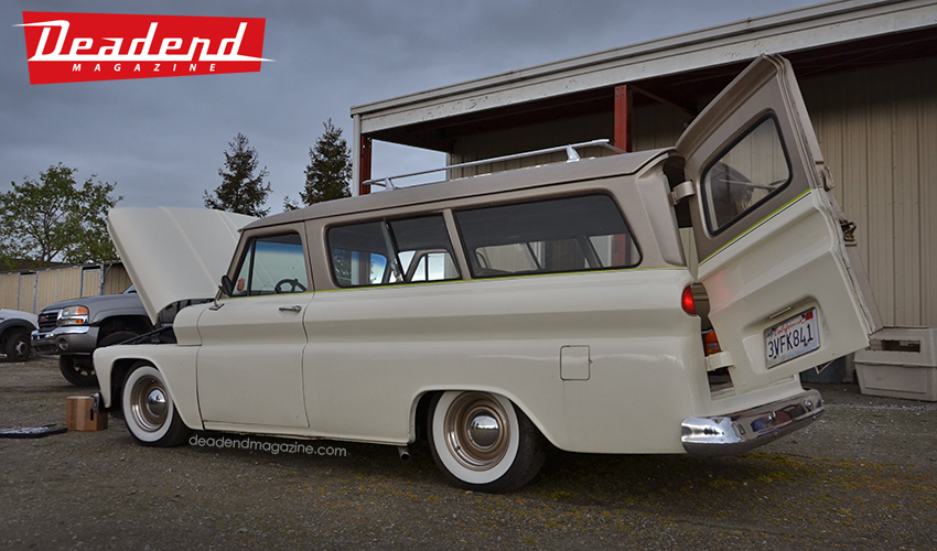 After a few more errands we headed to Syrarium Studios. Phil & Anthony were working on this nice Suburban.