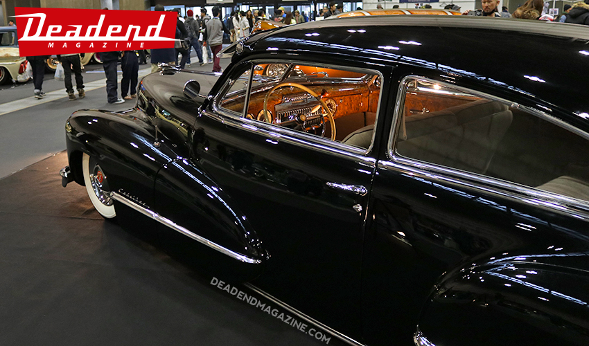 This super clean Cadillac built by Eight Power in Tokyo Japan received the Deadend Magazine pick.
