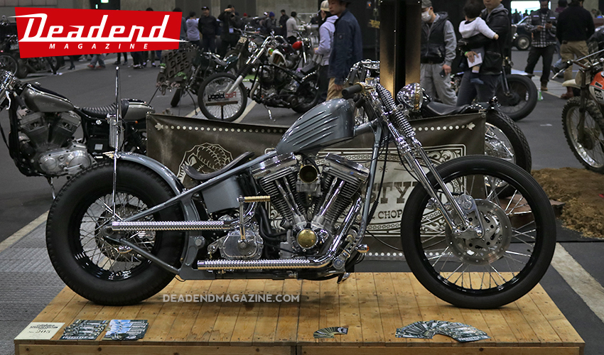 Very cool and slick Chopper.