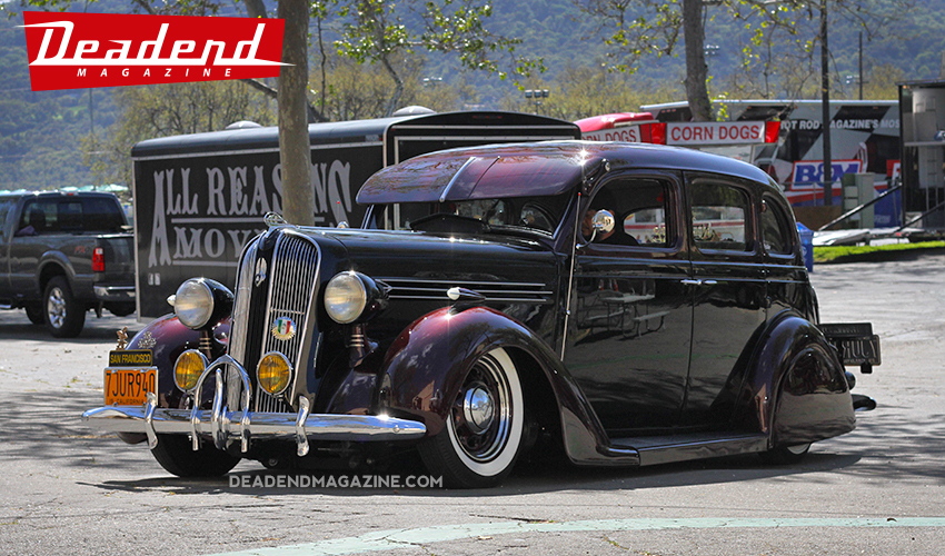 A new bomba cruisin into the show from Sin Nombre Car Club.