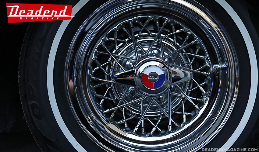 As they say 'Wheels are everything..' Original (restored) Buick Skylark wires.