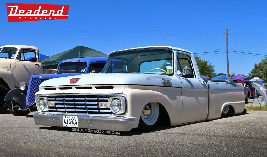 Cool Ford pick-up.