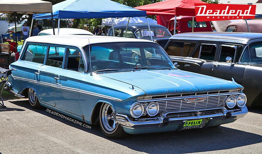Clean Chevy wagon.