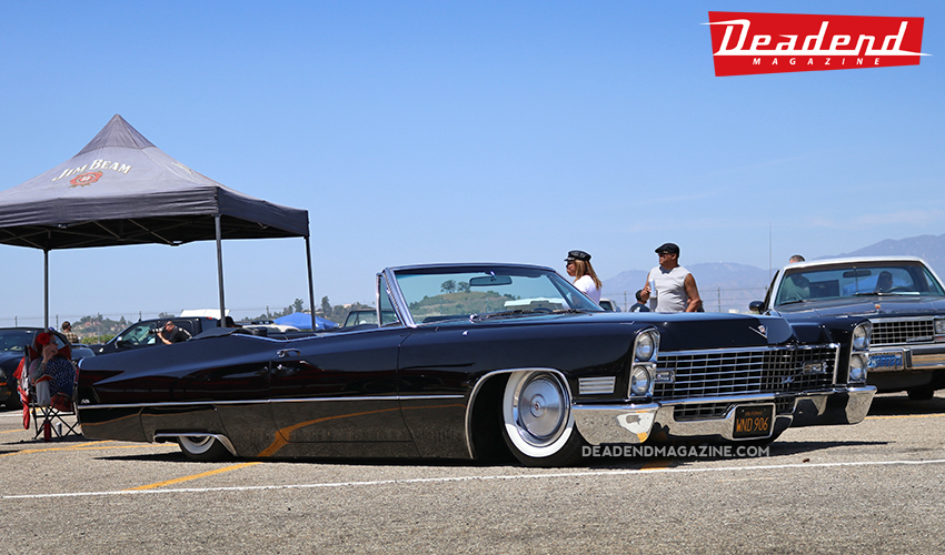 Super clean Cadillac convertible.