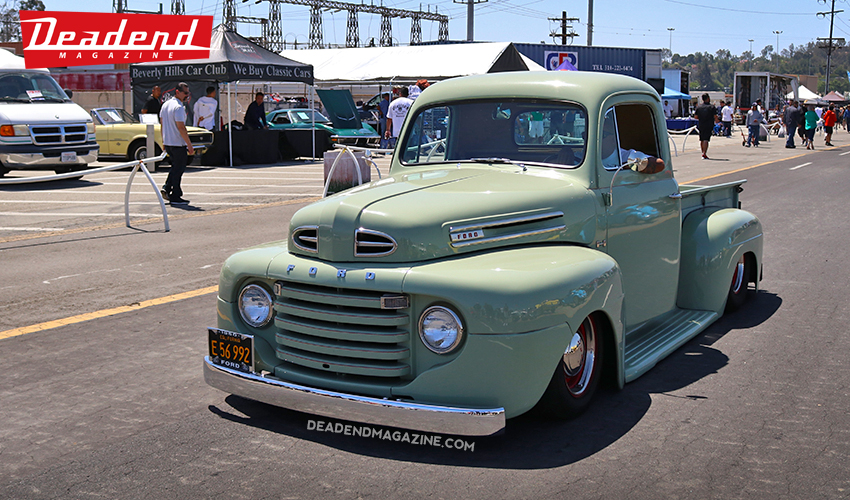 This Ford pick-up cruised low.