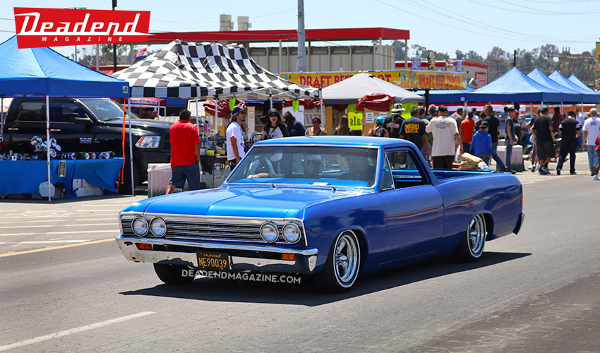Cool blue El Camino