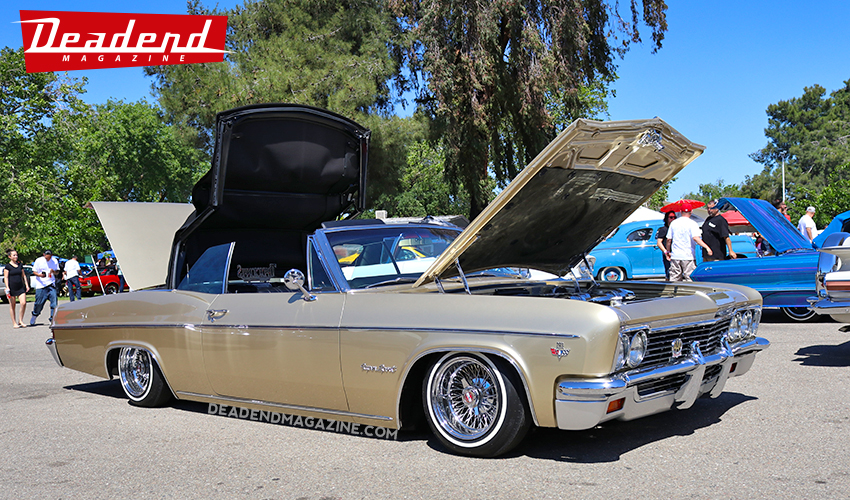 A lot of nice convertible Impalas throughout the show.