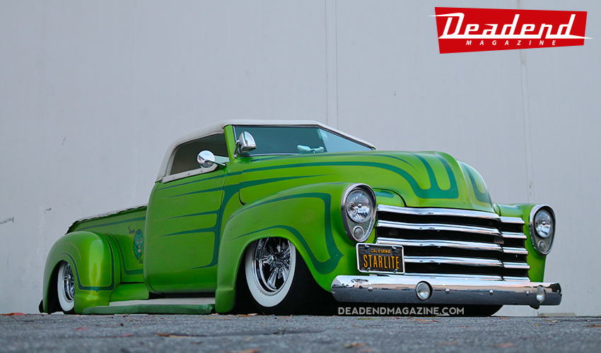 Edgar from Starlite Kustoms brought out his custom truck.