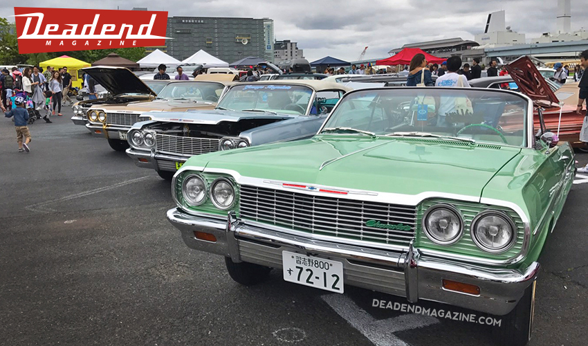 A few Impalas lined up.