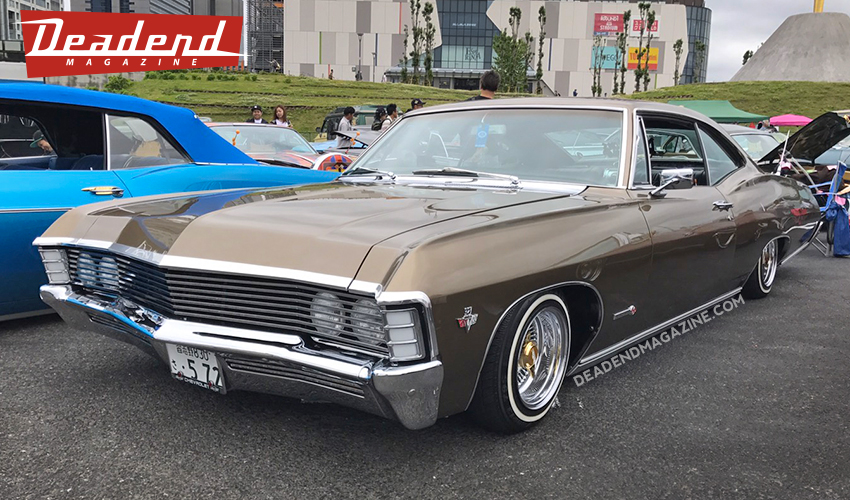 Nice Impala with a few custom touches.