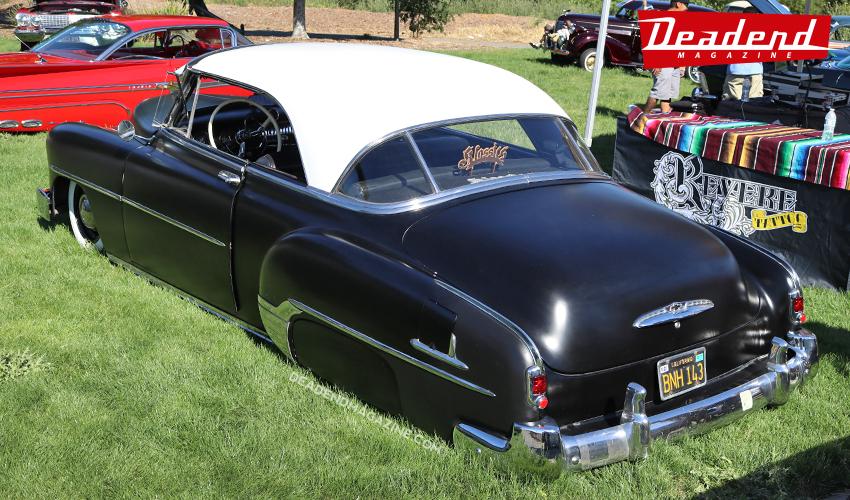 Nice Chevy hard top.
