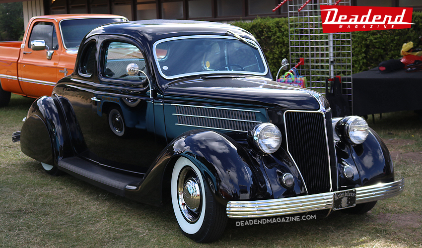 Clean 36 Ford.