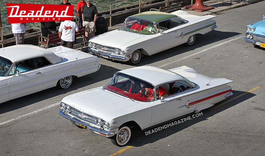 All white Impalas.
