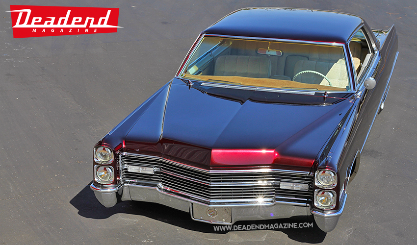 This Caddy is smooth from any angle.