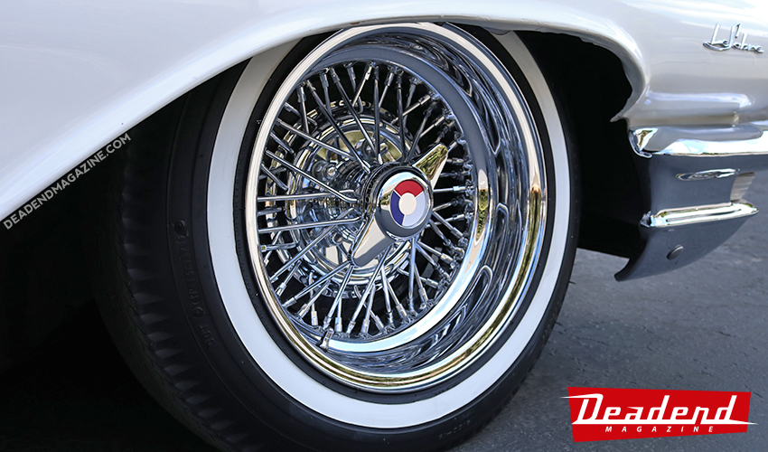 Deep dish wire wheels and small tires sure look good.
