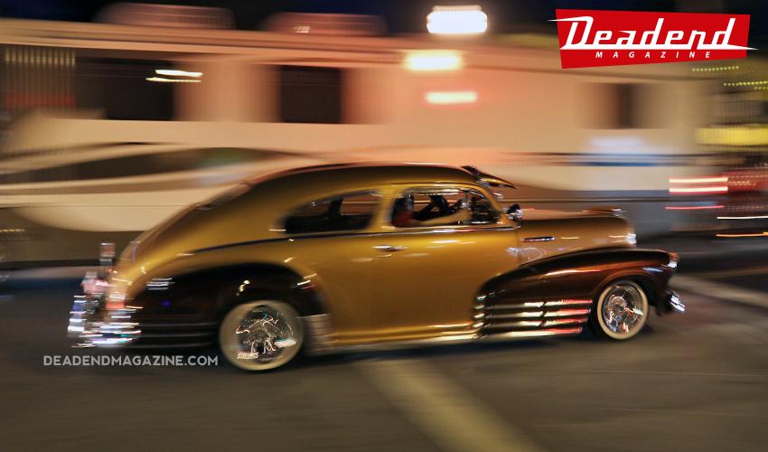 Classic cars were cruisin' all over Ventura.