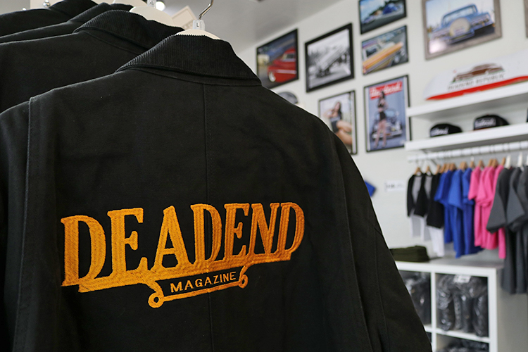 We have a few Deadend Jackets available at the store.