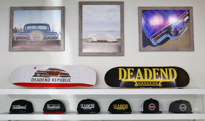 We still have a few Deadend Magazine skate decks available at the store.