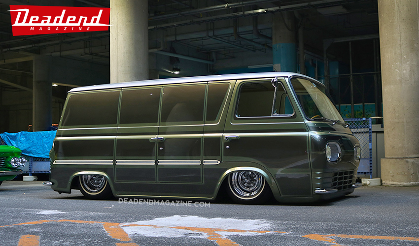 Congrats to our good friend Coby for having his Econoline 'Van Go' as a special guest.