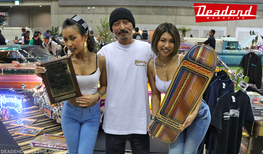 Thanks to Syrarium Studios (Phil Leonard) and Ken the Flat Top for collaborating on the board we gifted to Cholo along his award.