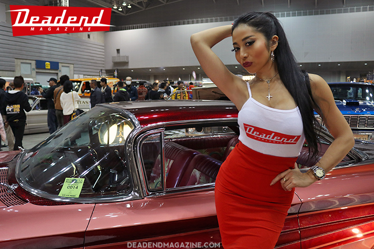 Thanks to Nana for helping at the Deadend Magazine booth all day!