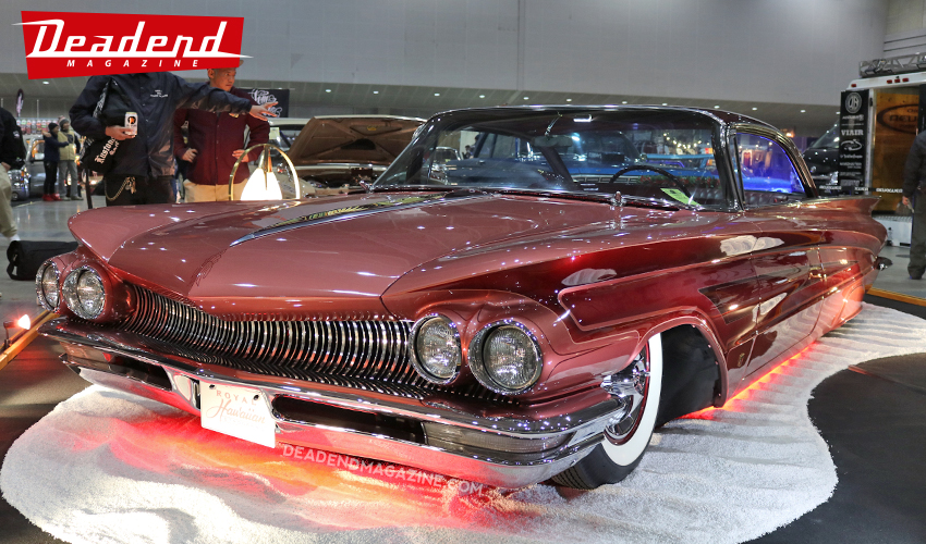 Strongers Car Club brought out this cool custom '60 Buick.