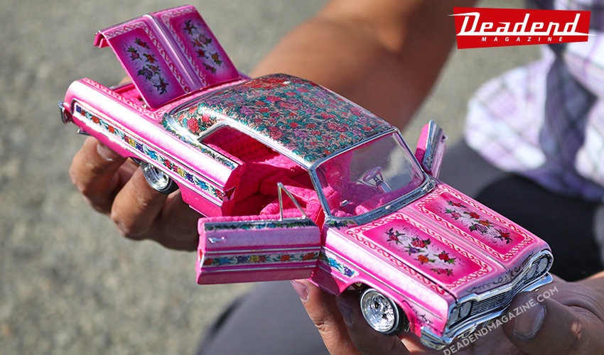 Armando Flores brought out the Gypsy Rose scale model.
