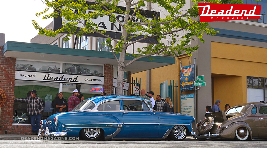 James Garcia's (JRG Photography) mild custom Chevy parked front & center.