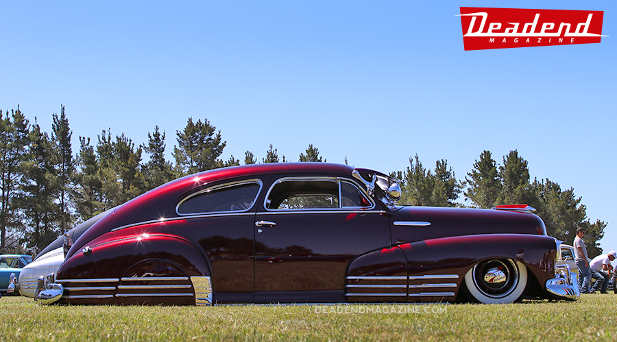 Roddy's clean Fleetline took home the California Sunday's pick.