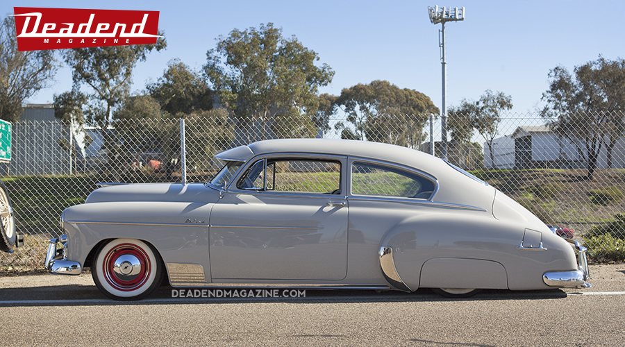 This really clean Chevy Fleetline was awarded the Deadend Magazine pick.