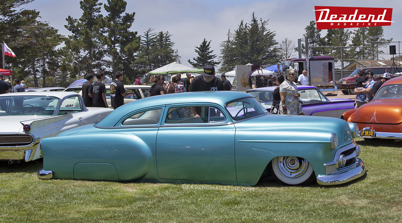 Scott's custom 53 Chevy took the Relaxed Atmosphere pick.