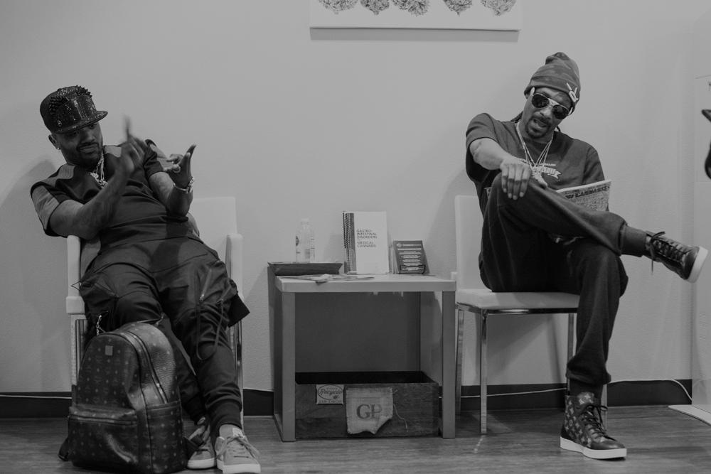BTS: How High You Wanna Go - RayJ X Snoop