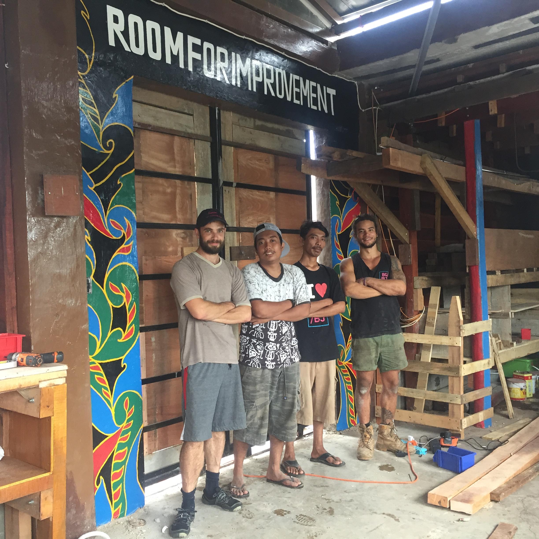 Room for Improvement - Upcycling workshop -