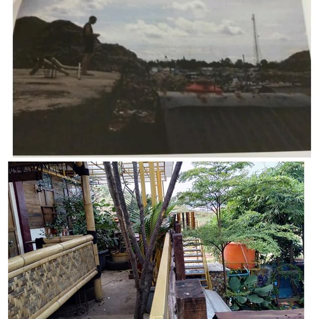 Before and After - turning ideas into reality. Thank you for the love and support to BGBJ 🙏❤ www.bgbj.org . . . . . #bgbj #beforeandafter #thebiggestlandfill #wastewonderland #bantargebang #waste #communityhub #childrencenter #ourhomeonthedump #landfill #bijimaju #bijibesar #theseedsaregrowing #theseedsoflove #lifeiswhatwemakeit #thebestdumpever