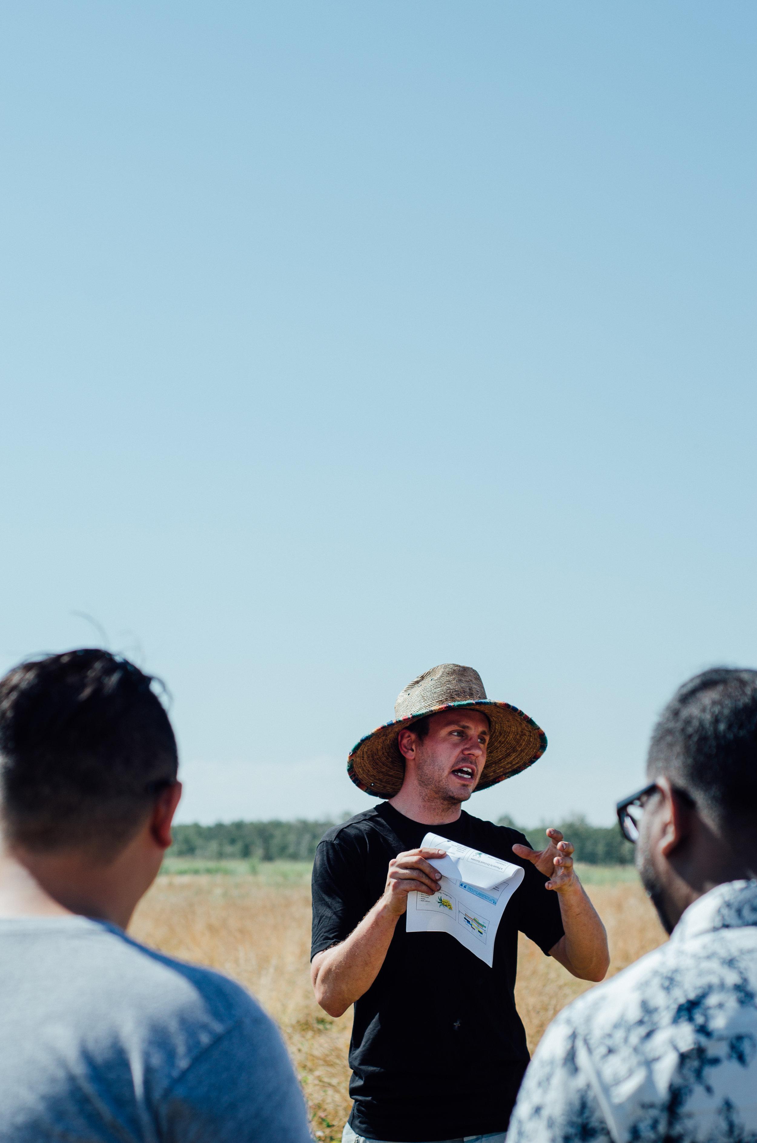 First Farm Tour - Alberta Haskap Farm - Rosy Farms