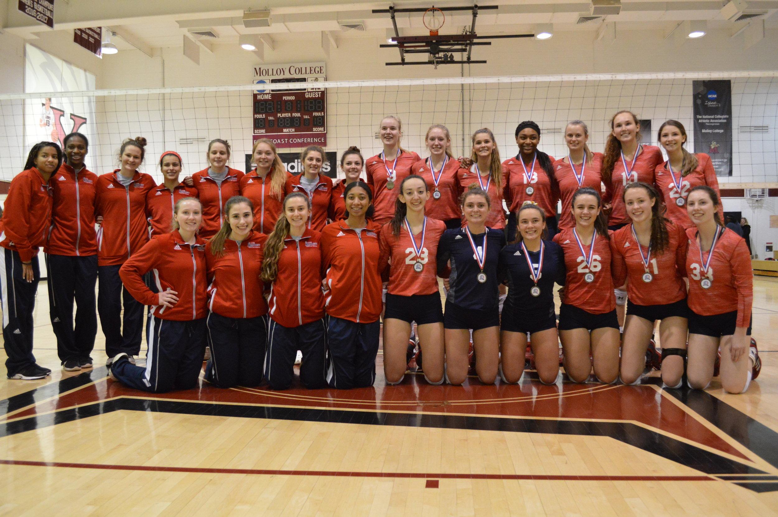 2018 Accomplishments Academy Volleyball